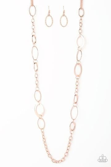 Chain Cadence - Rose Gold