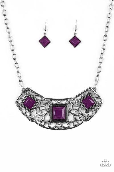 Feeling Inde-PENDANT - Purple