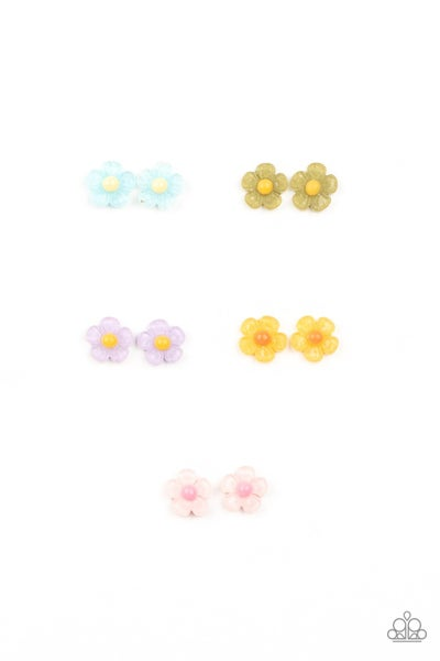 Starlet Shimmer - Flower Earrings