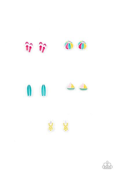 Starlet Shimmer - Summery Earrings