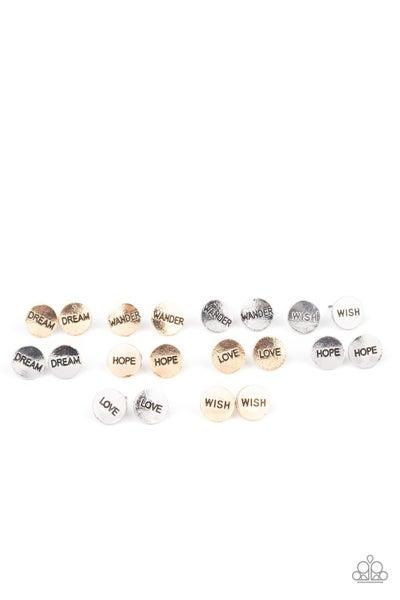 Starlet Shimmer - Inspirational Earrings