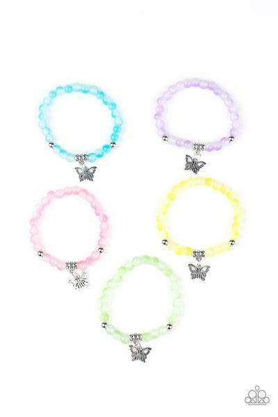 Starlet Shimmer - Glassy Butterfly Bracelets