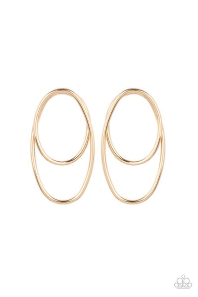 So OVAL Dramatic - Gold