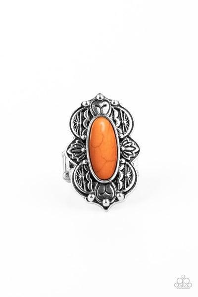 Lotus Oasis - Orange