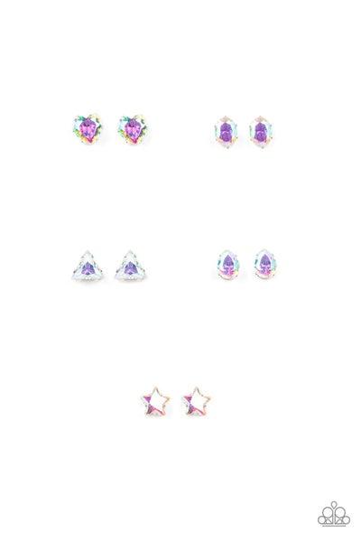Starlet Shimmer - Iridescent Post Earrings