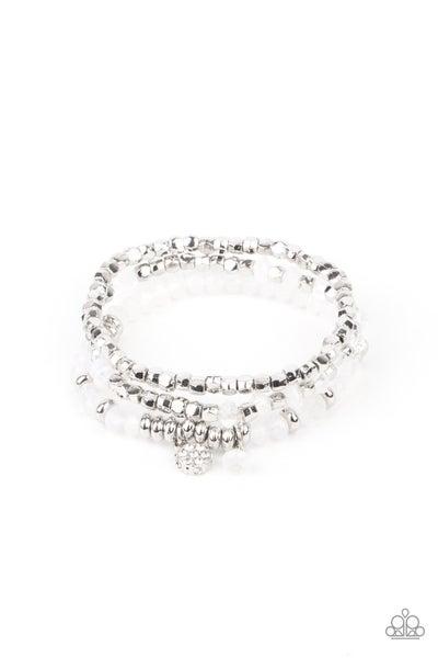 Glacial Glimmer - White