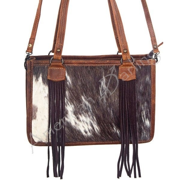 American Darling Cow Satchel