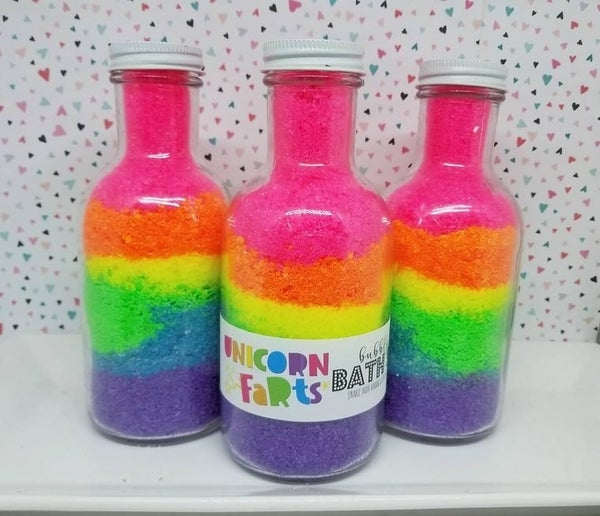 Unicorn Fart bath Salt