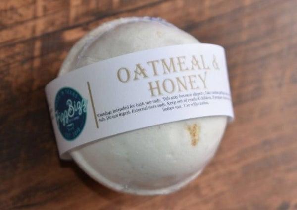 Oatmeal and Honey bath bomb