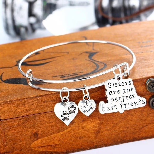 Sisters are the best Bracelet