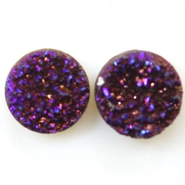 Purple Perfection earrings