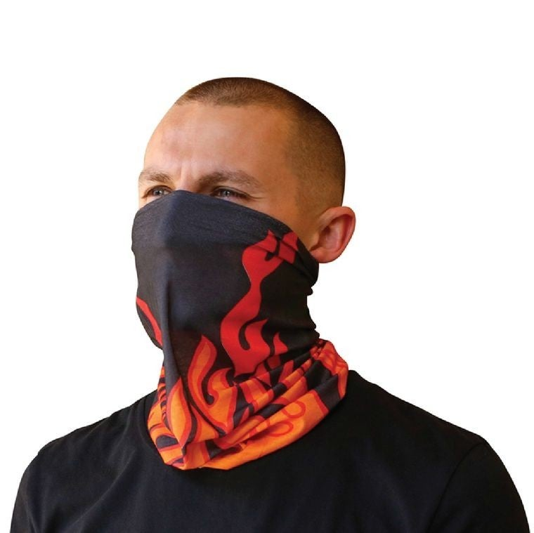 Fire face-masks (11 ways to wear)