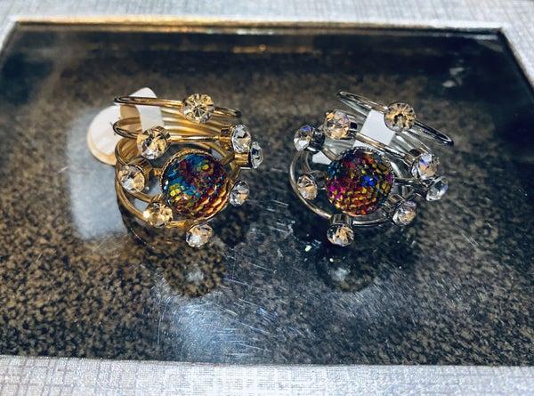 Disco globe ring