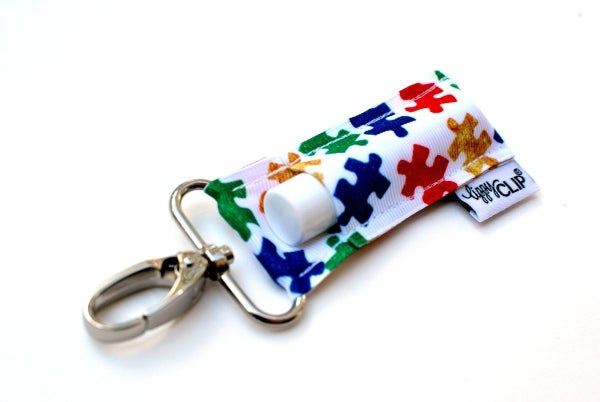 Autism awareness Lippy Clip