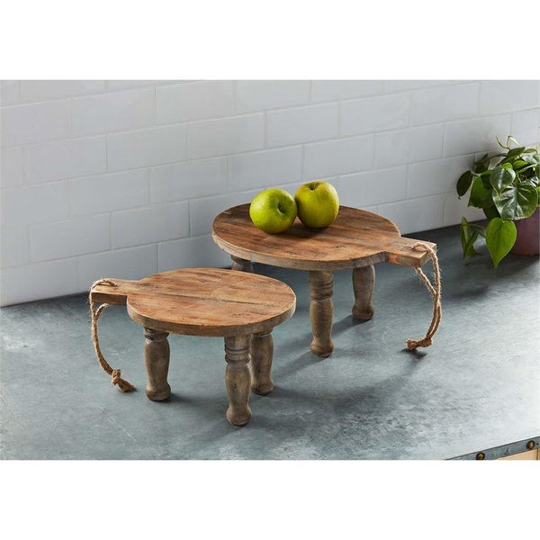 Small Wood Riser Board