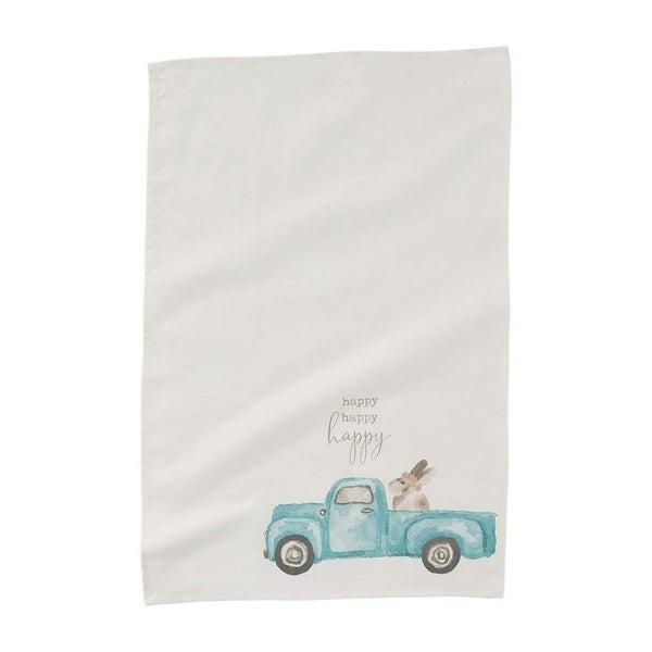 Bunny in Truck Towel