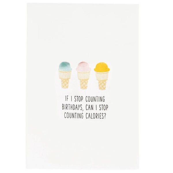BIRTHDAY ICE CREAM TOWEL