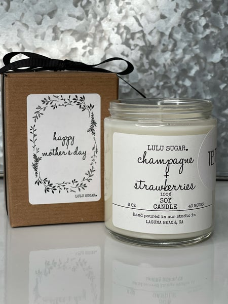 8 oz Happy Mother's Day Soy Candle