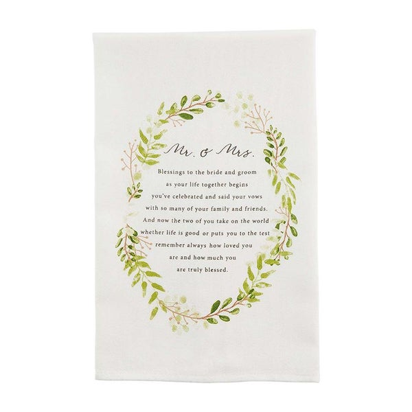 Mr. & Mrs. Wedding Towel