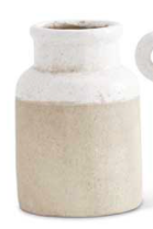 Two-Tone Ceramic Vase
