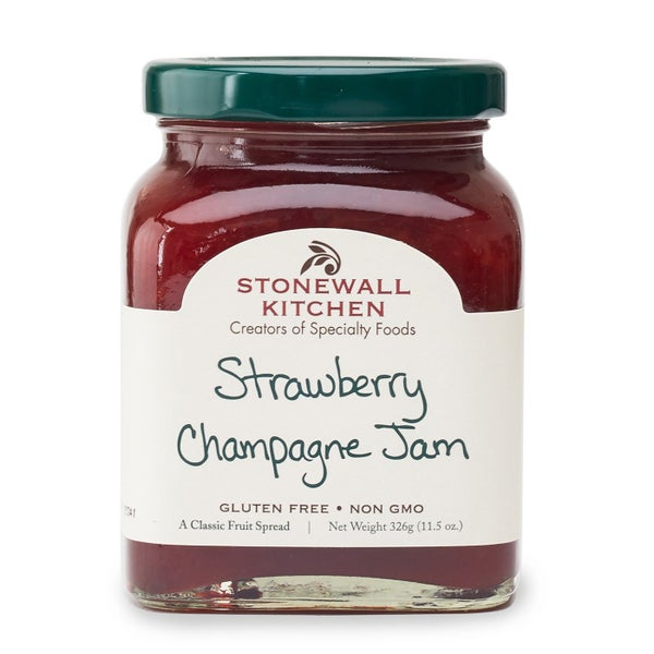 Strawberry Peach Champagne Jam