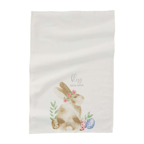 Bunny and Eggs Towel