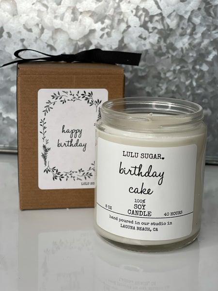 8 oz Happy Birthday Soy Candle