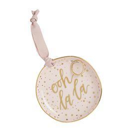 Trinket Tray Jewelry Set Blush