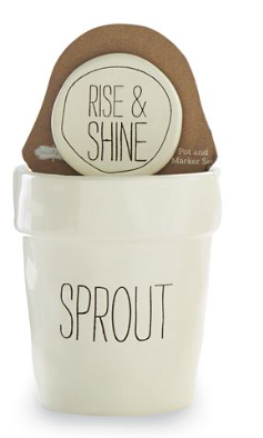 SPROUT POT AND MARKER SET