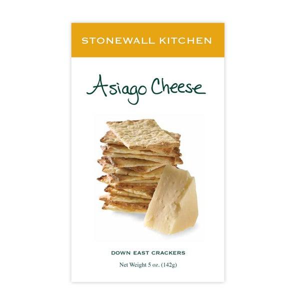 Asiago Cheese Crackers