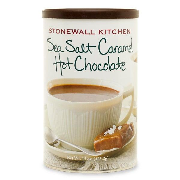 Sea Salt Caramel Hot Chocolate