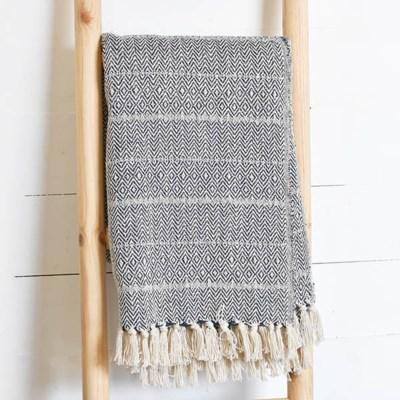 RECYCLE COTTON THROW