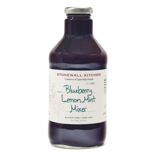 Blueberry Lemon Mint Mixer