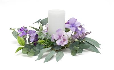 LAVENDER FIELDS CANDLE RING