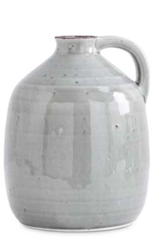 7.5 Inch Gray Jug With Handle