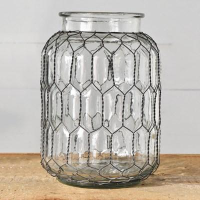 "9.5"" WIDE MOUTH JAR"