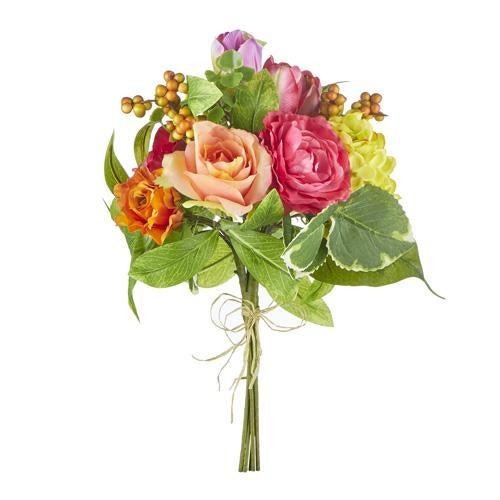 "15"" Rose and Ranunculus Bouquet"
