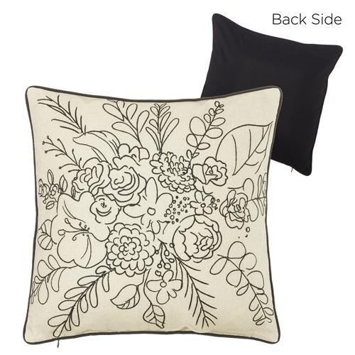 "18"" Wildflower Pillow"