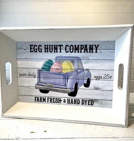 Egg Hunt Company Tray