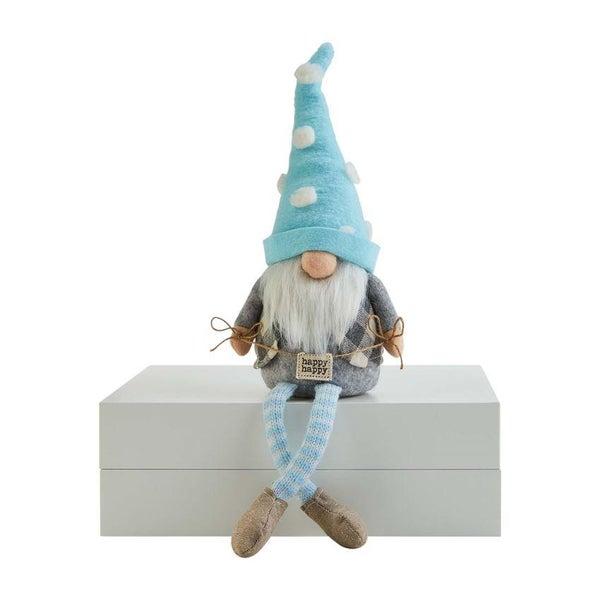 Happy Sign Dangle Leg Gnome