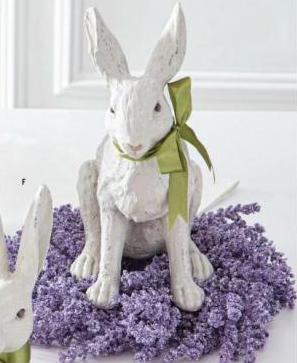 "13"" Purple Lavender Wreath"