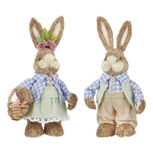 GIRL or Boy Bunny with Basket