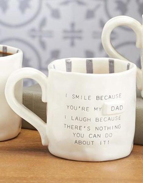 Funny Dad Mug- Smile