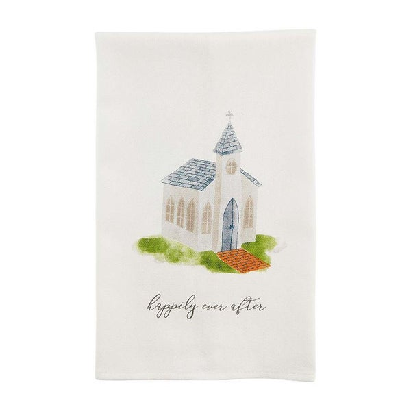 Happily Ever After Wedding Towel