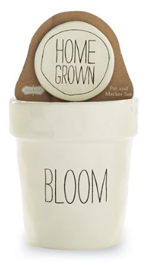 BLOOM POT AND MARKER SET