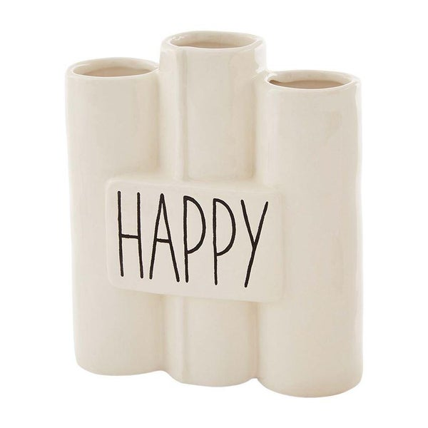 Happy Connected Bud Vase