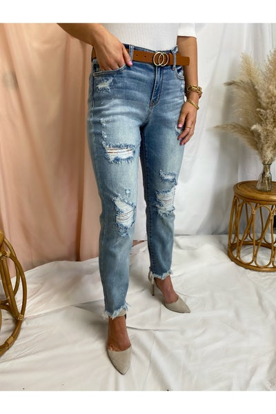 The Kim Distressed Jeans