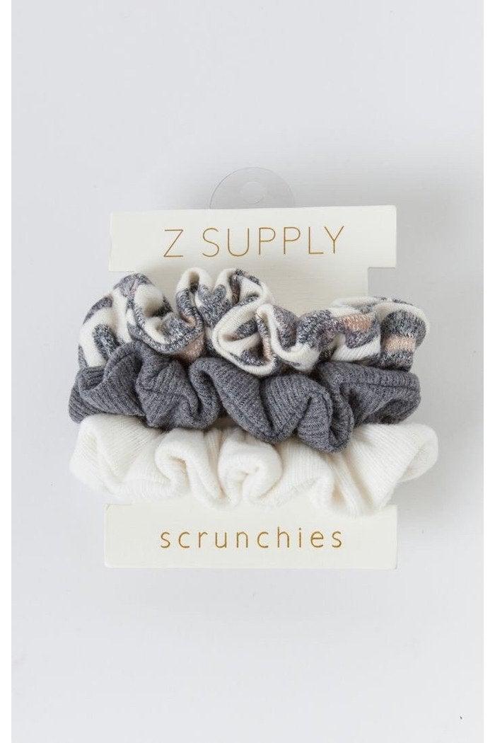 Z Supply Scrunchie Pack Leopard Bone