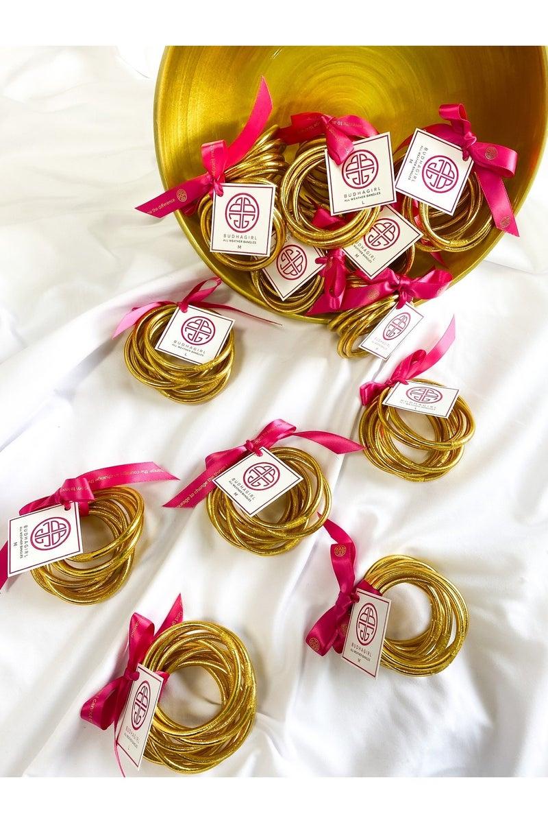 Gold Serenity Bracelets by BuDhaGirl