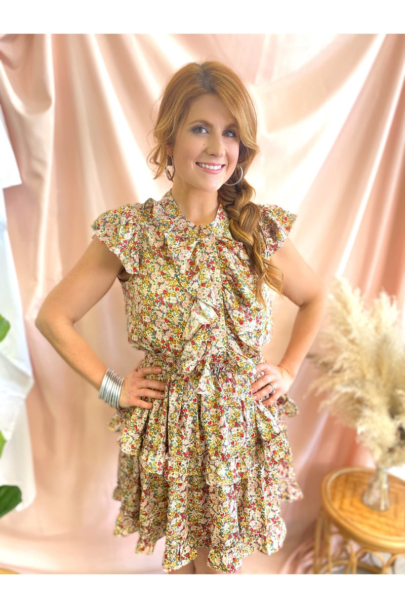 Astrid Orchard Dress By Buddy Love